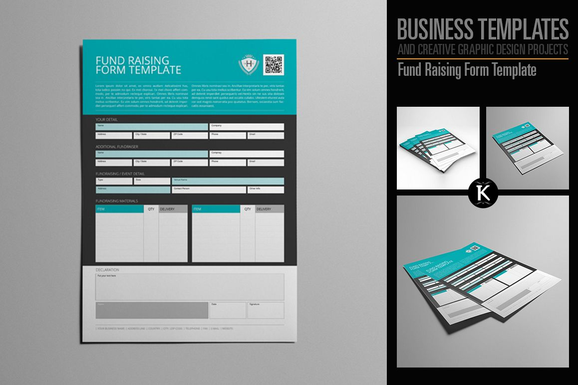 Fund Raising Form Template example image 1