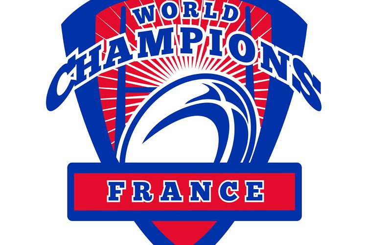 Rugby ball France World Champions example image 1