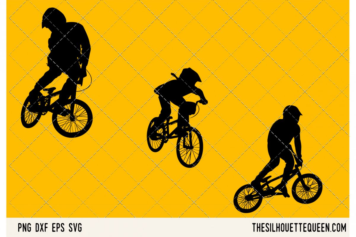 BMX SVG example image 1