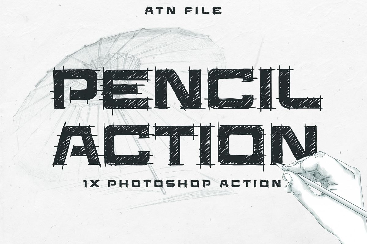 Easy Pencil Effect for Photoshop example image 1