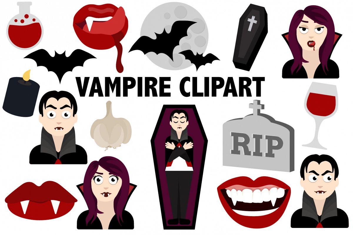 Vampire Clipart example image 1