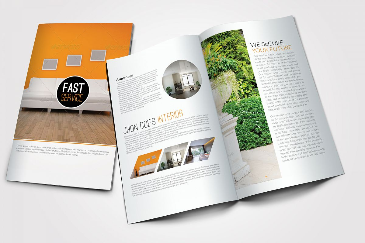 Real Estate Agency Bifold Brochures example image 1