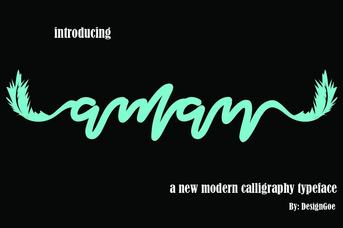 Aman Script example image 1