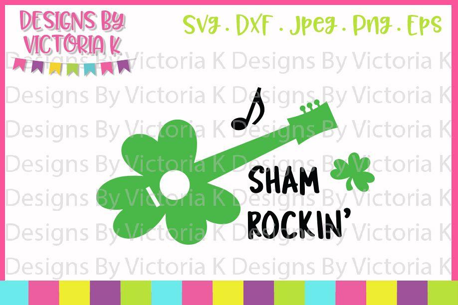 St Patrick's Day, Shamrockin', SVG, DXF, PNG example image 1