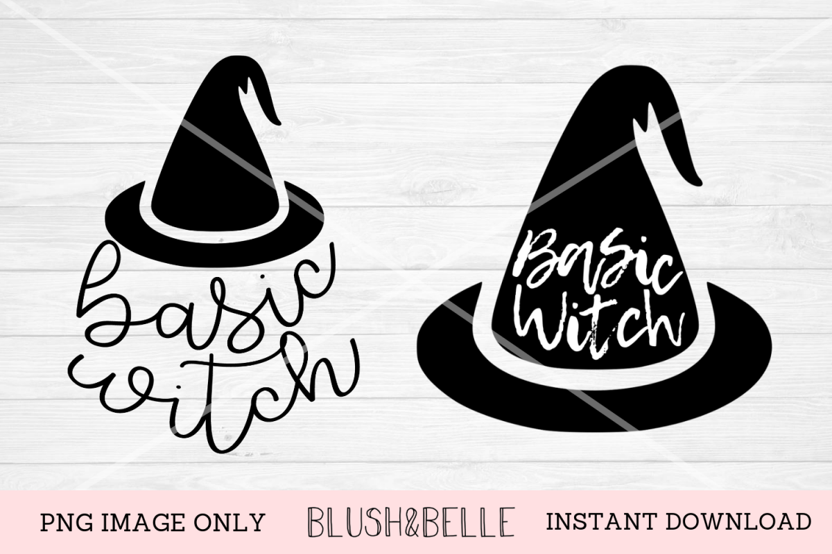 Basic Witch 2 Pack - PNG Images Only example image 1