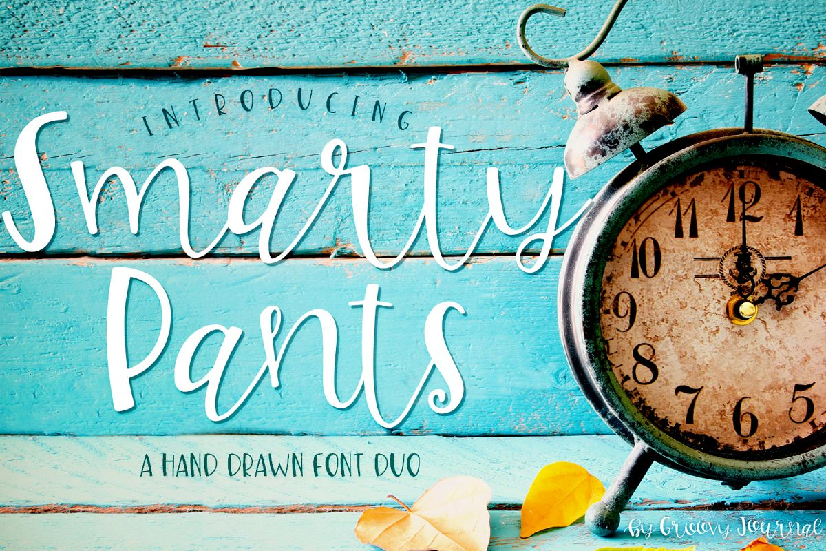 Smarty Pants Font Duo example image 1