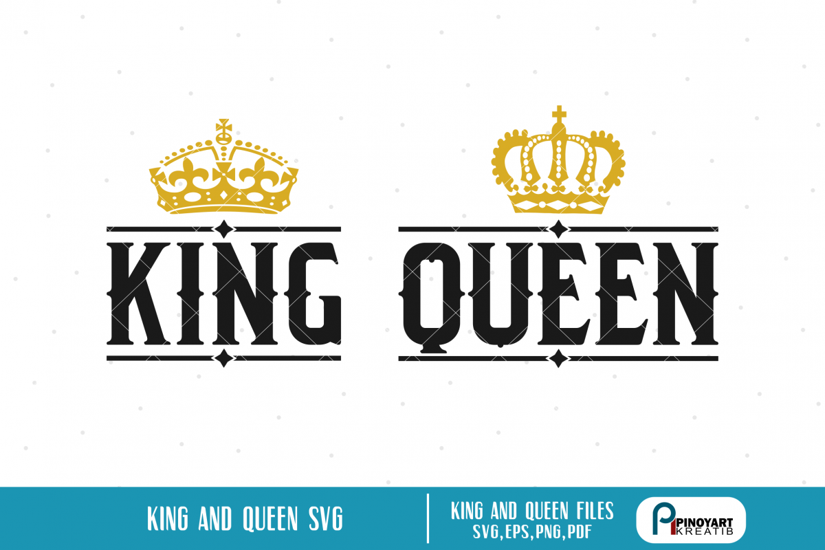 Her King Svg His Queen Svg King And Queen Svg Svg Design: King Svg, Queen Svg, King Svg File, Queen Svg File,Crown Svg
