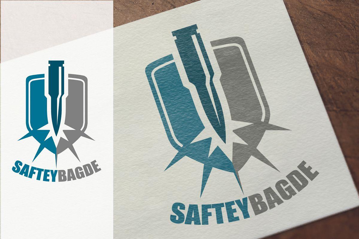 Safety Badge Logotype & Icon example image 1
