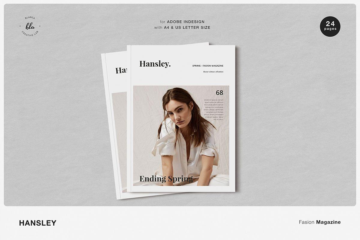 HANSLEY Fasion Magazine example image 1