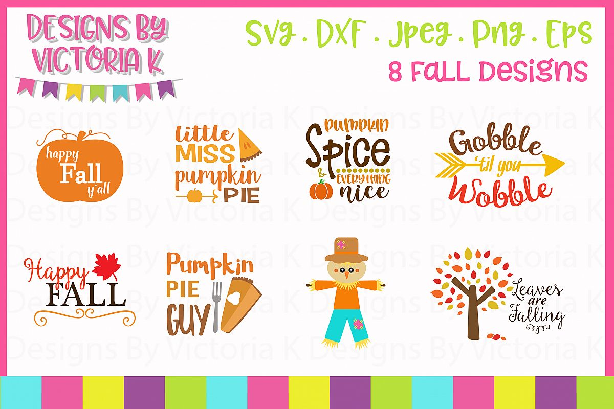 Fall Bundle SVG Cut Files example image 1