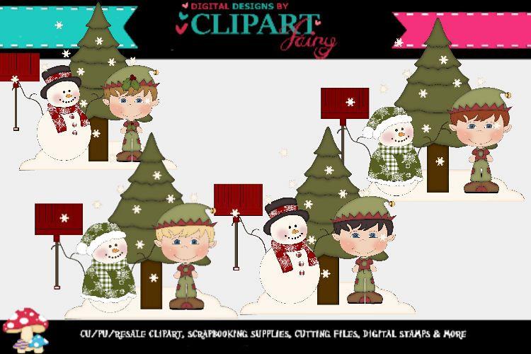 Christmas boy Elves example image 1