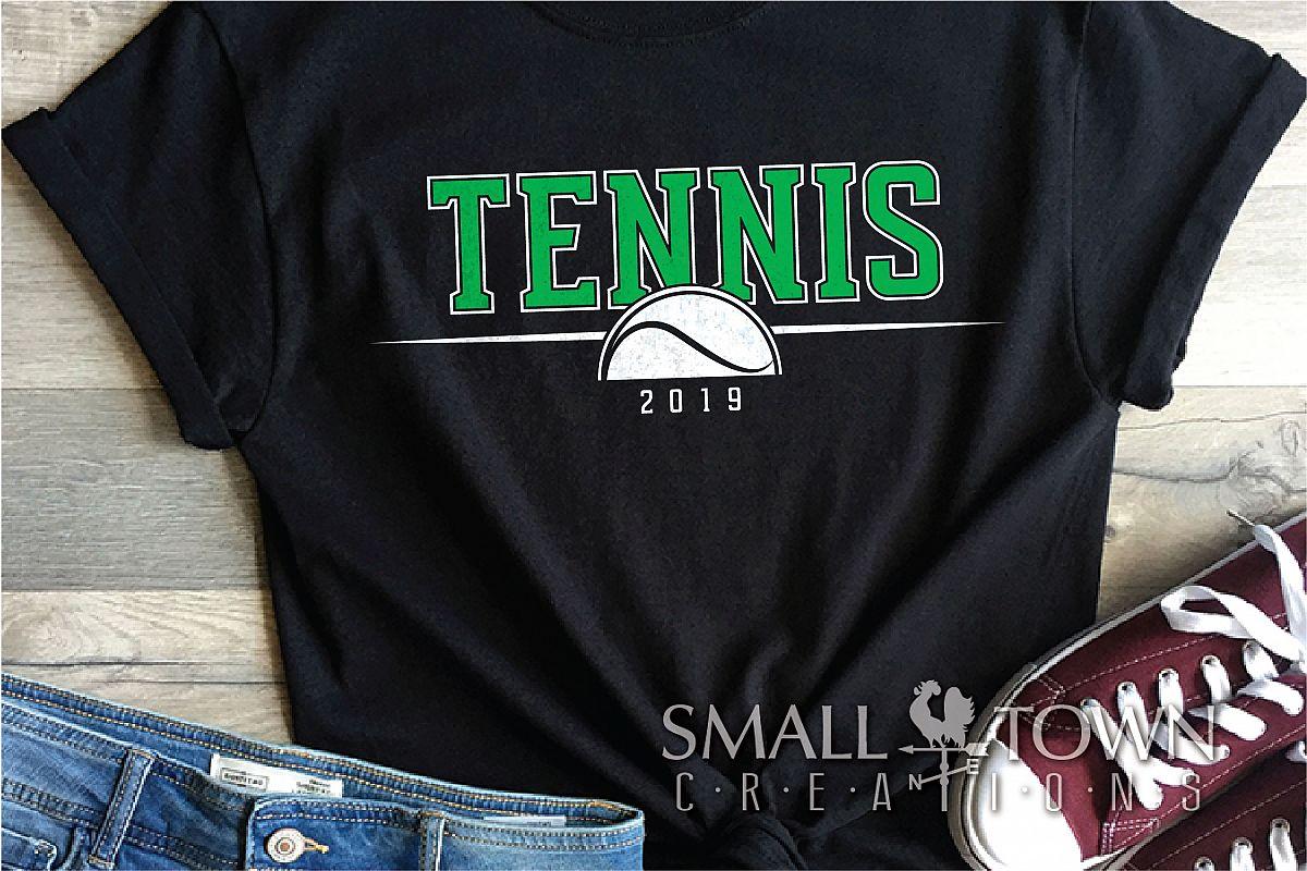 Tennis, tennis ball, Sports, Team logo, PRINT, CUT & DESIGN example image 1
