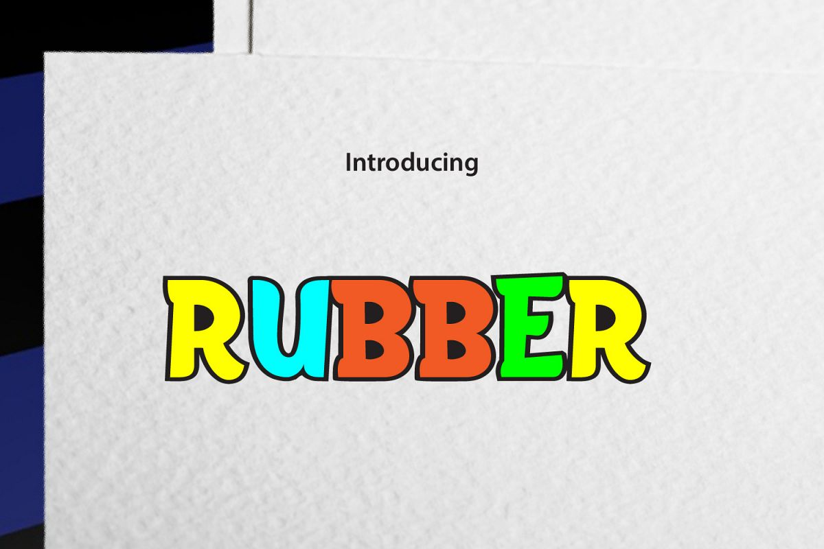 RUBBER example image 1