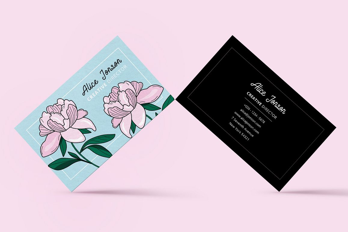 Botanical Business Card example image 1