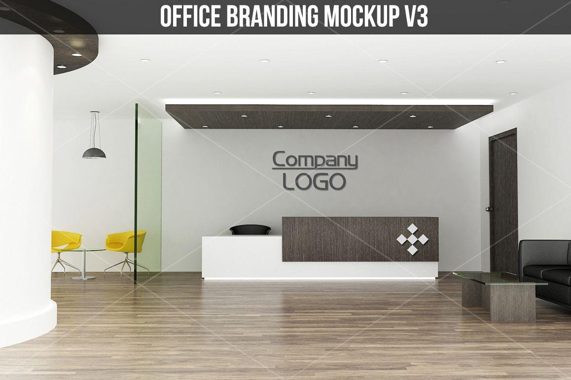 Office branding Mockup v3 example image