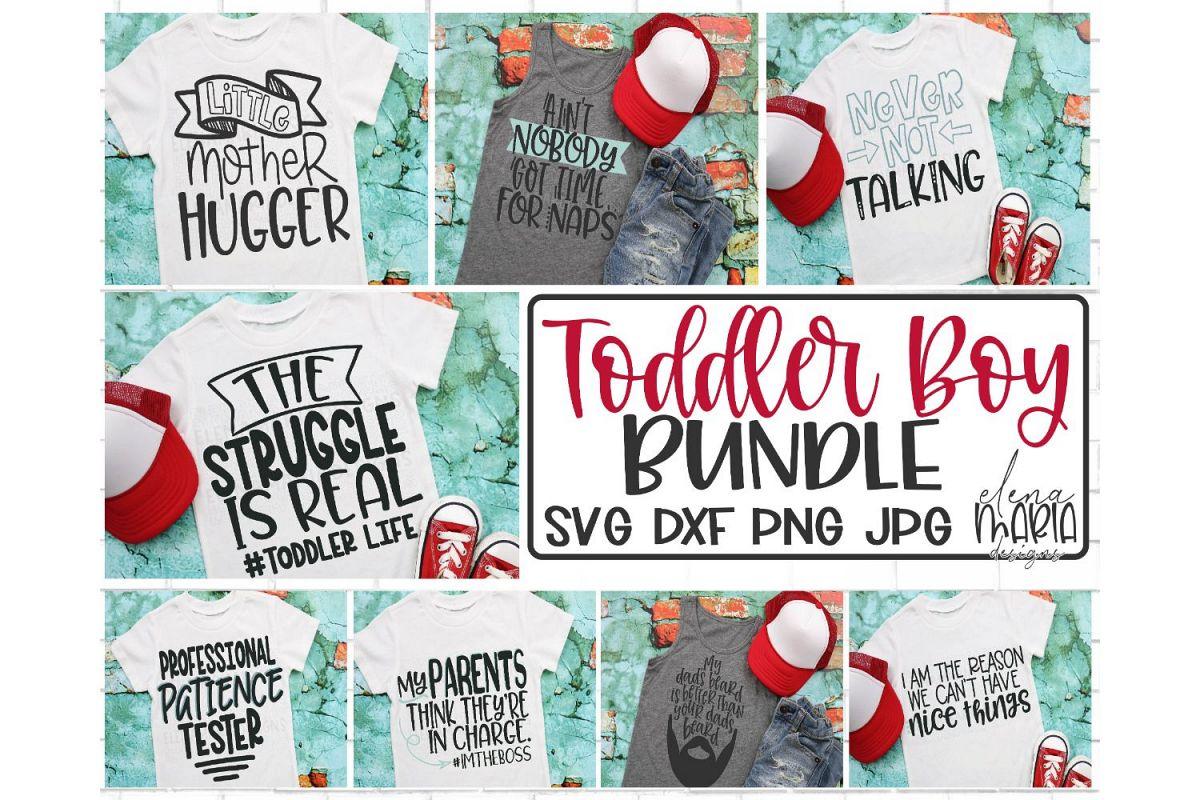 Toddler Svg Bundle | Kid Shirt Designs | Boy Humor example image 1
