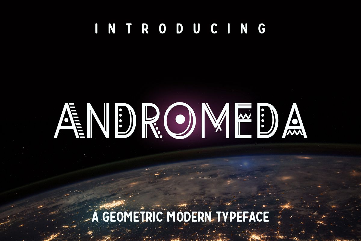 Andromeda Font example image 1