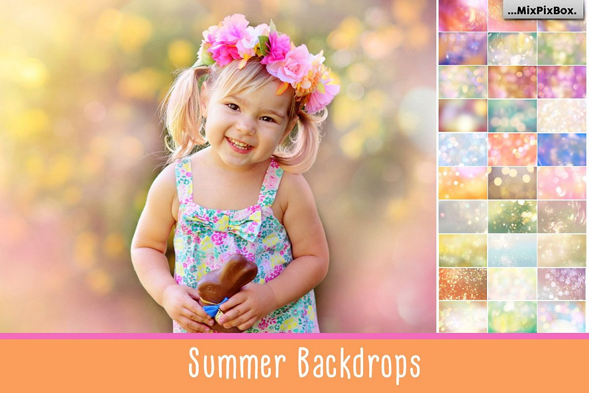 Summer Backdops example image 1