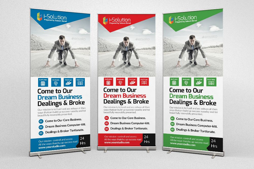 Business Innovation Roll Up Banners example image 1