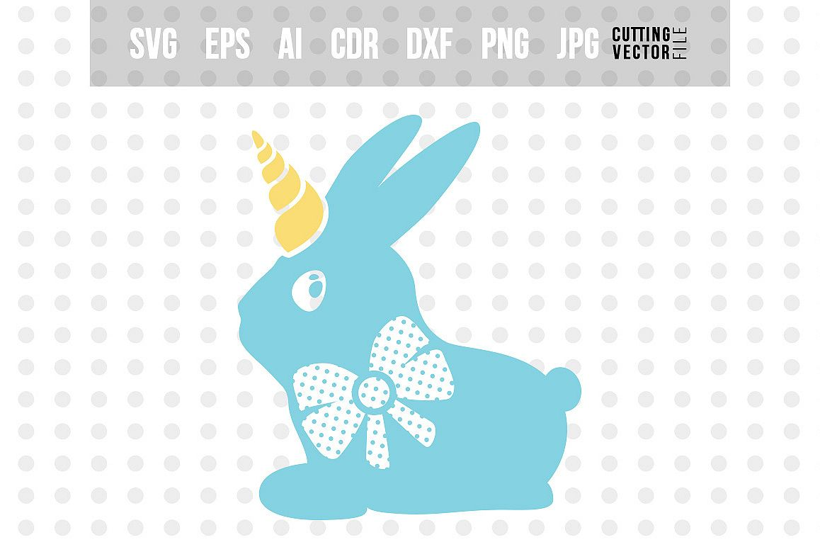 Bunny SVG - Cut File for Crafters example image 1