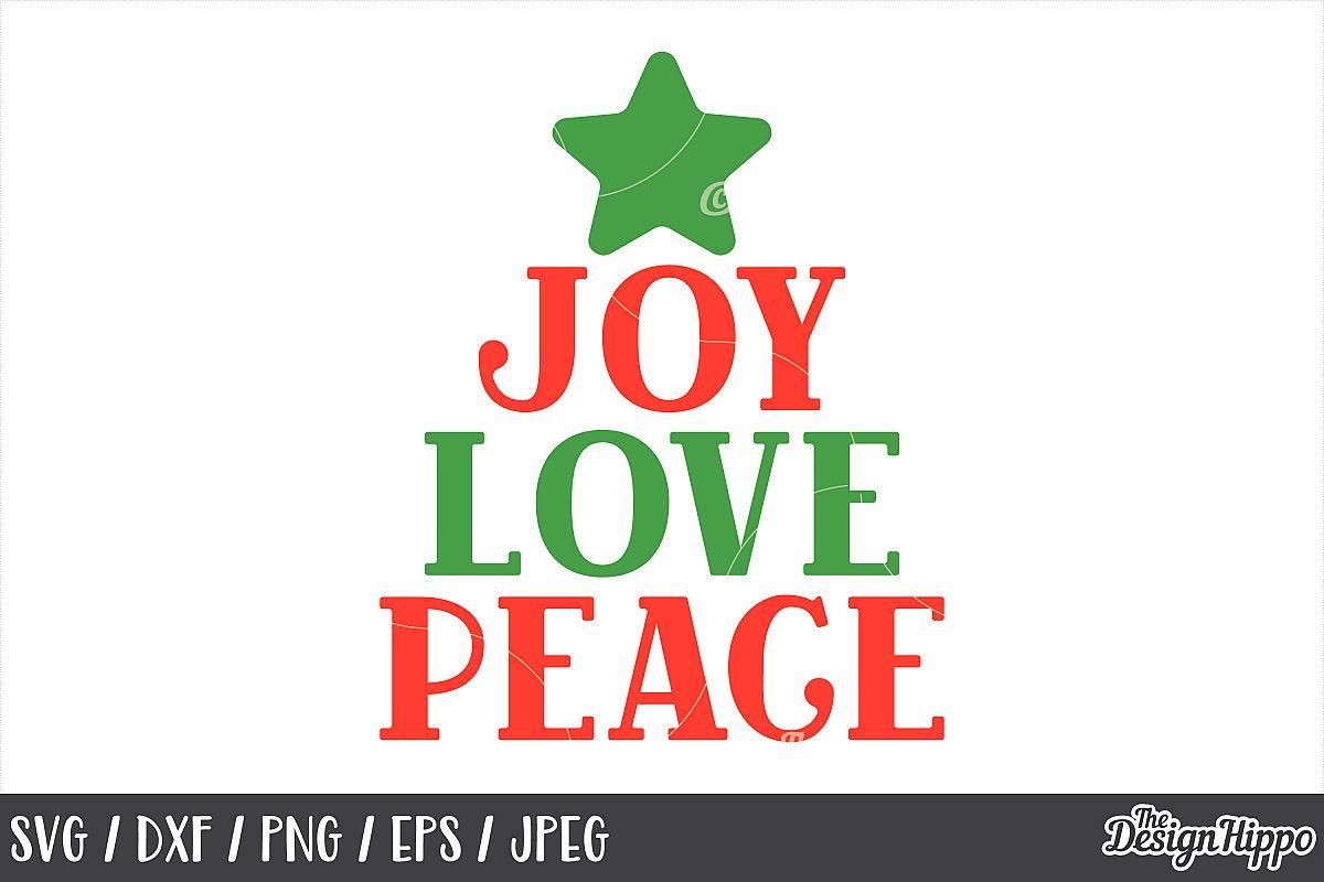 Peace Christmas Sign.Joy Love Peace Christmas Svg Png Dxf Cricut Cut Files