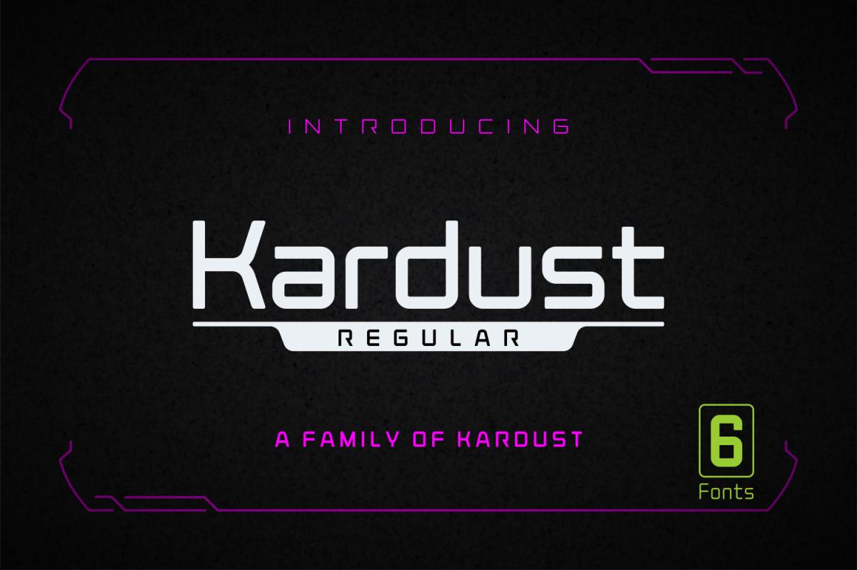 Kardust Regular example image 1