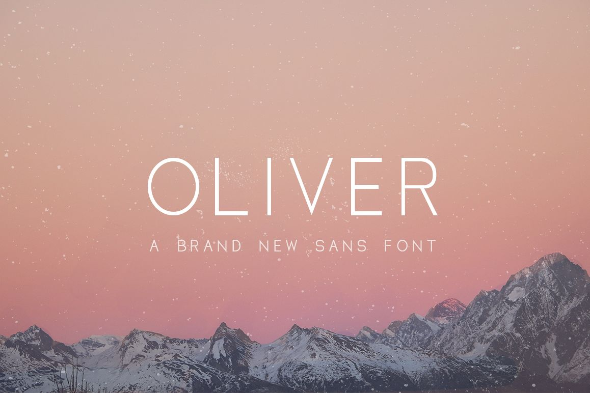 Oliver Font example image 1