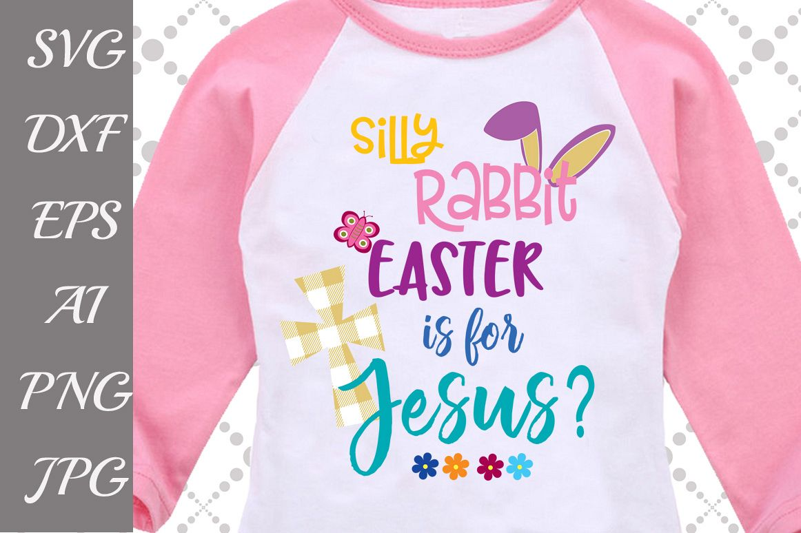 Easter Bunny Svg example image 1