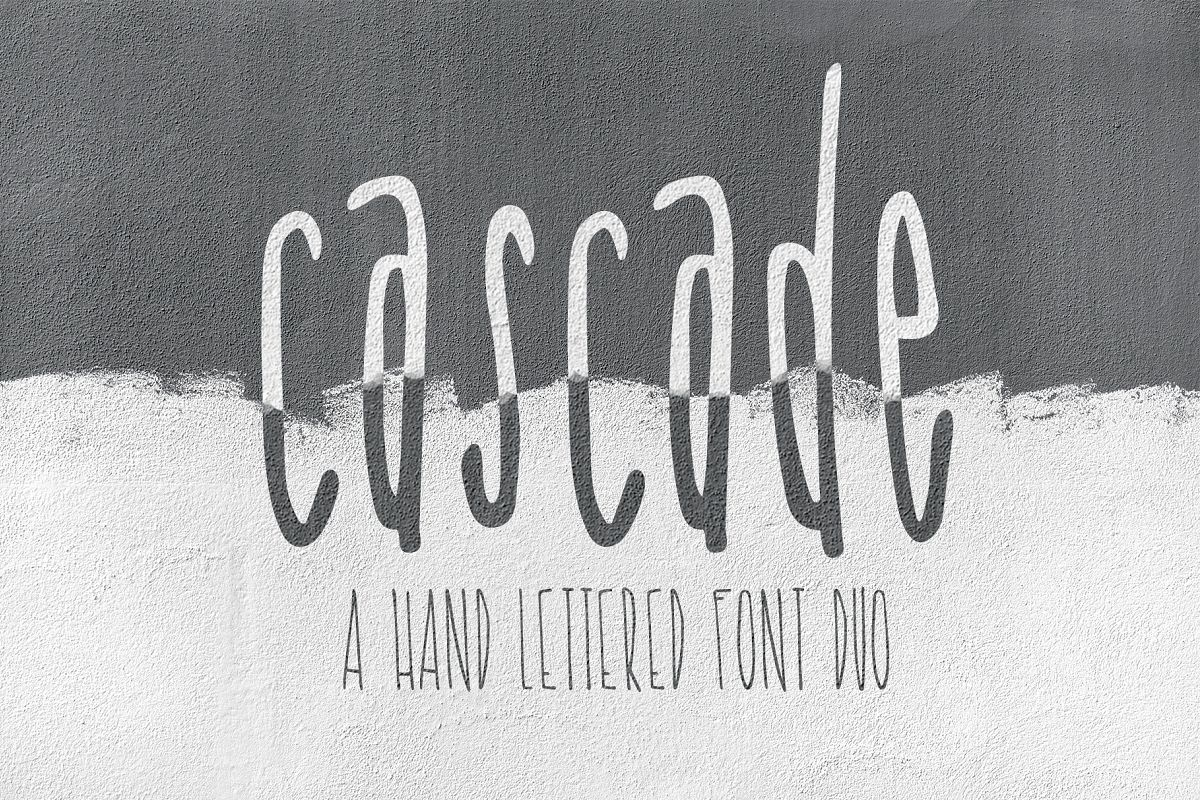 Cascade Font Duo example image 1