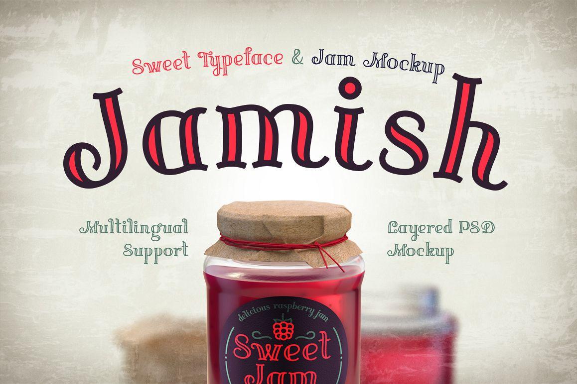 Jamish Font & Mockup example image 1