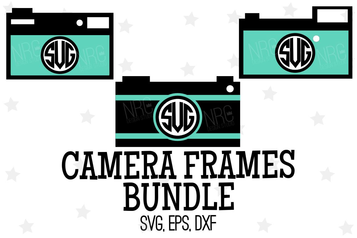 Camera Frame Bundle SVG File by NRCDesi | Design Bundles
