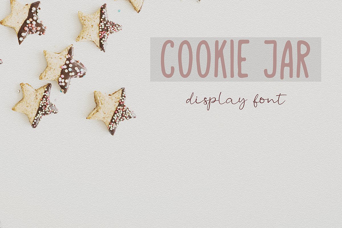Cookie Jar font example image 1