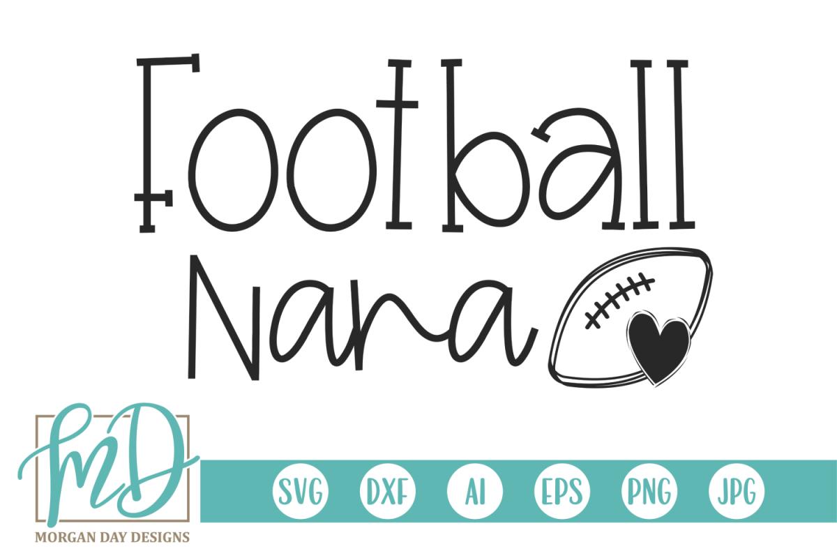 Football - Football Nana SVG example image 1