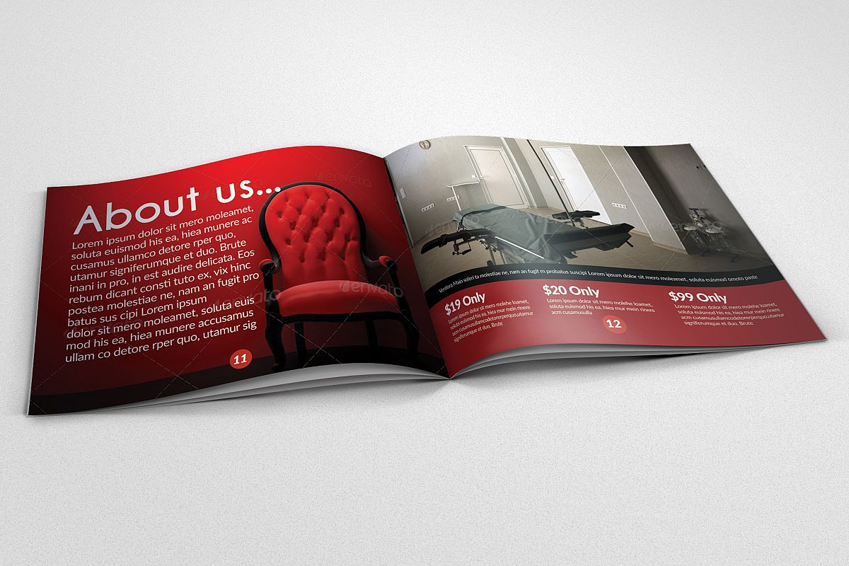 20 Pages Catalogue Business Bifold Brochure  example image 1