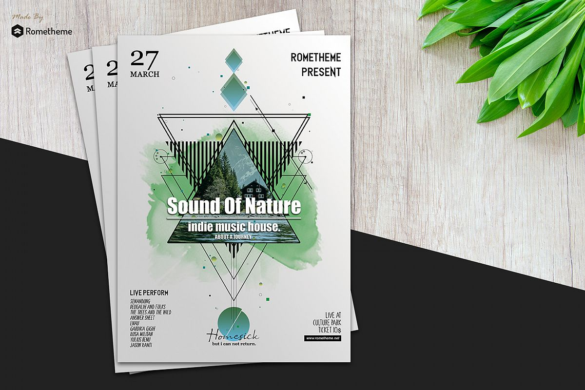 Music Flyer vol.03 example image 1