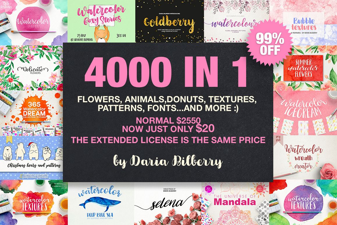 4000 IN 1 GRAPHIC BUNDLE SUPER SALE example image 1