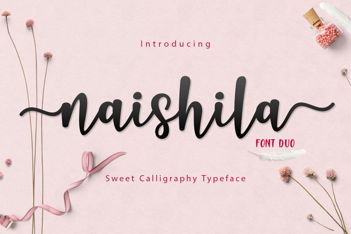 Naishila Font Duo example image 1