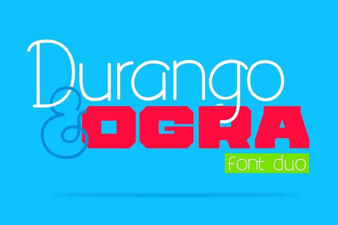 Durango & Ogra Font Duo example image 1