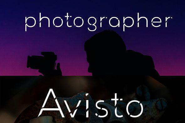 avisto font example image 1