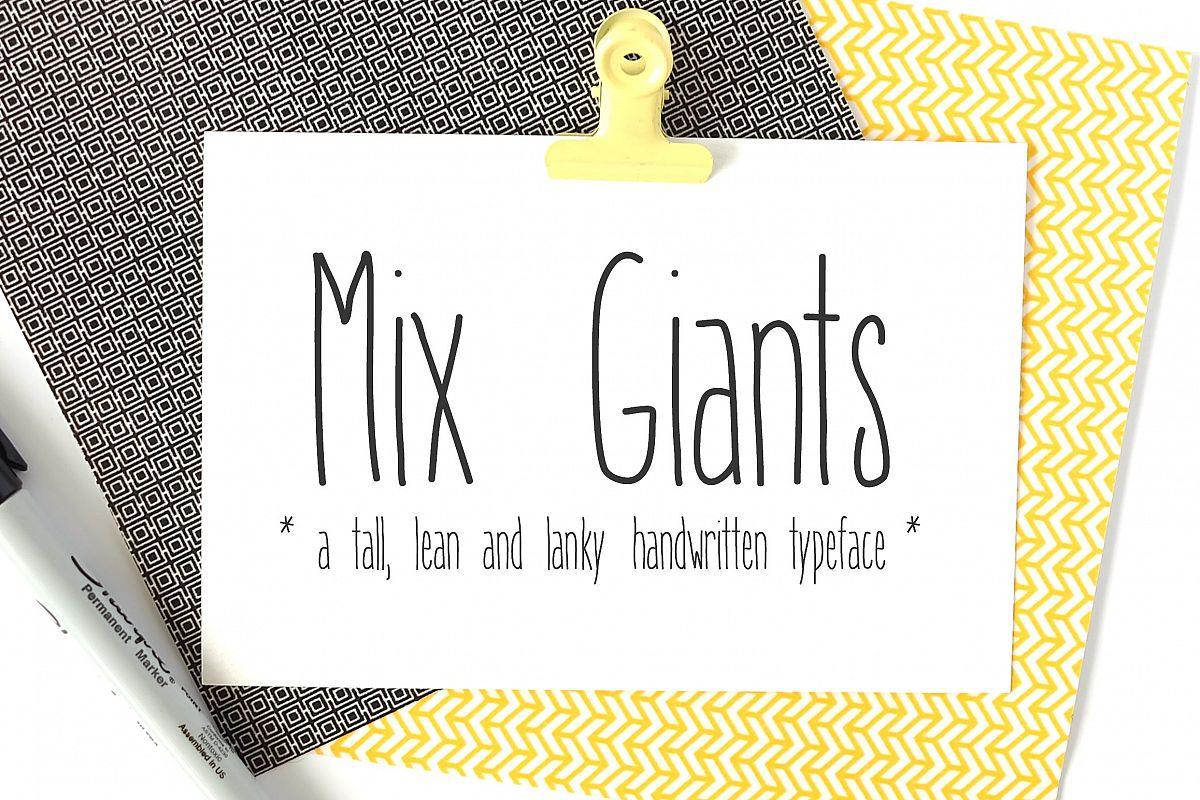 Mix Giants example image 1