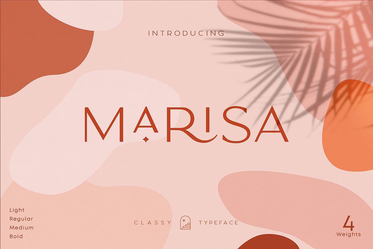 Classy Marisa - Elegant Fashion Stylish Typeface example image 1