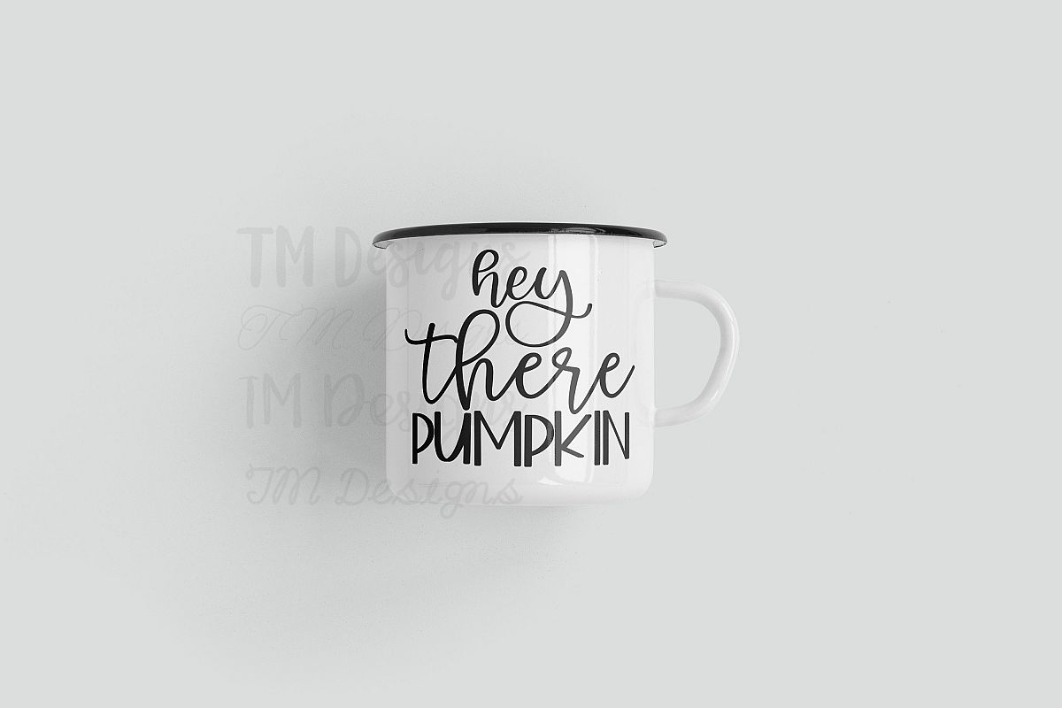 Hey There Pumpkin SVG example image 1