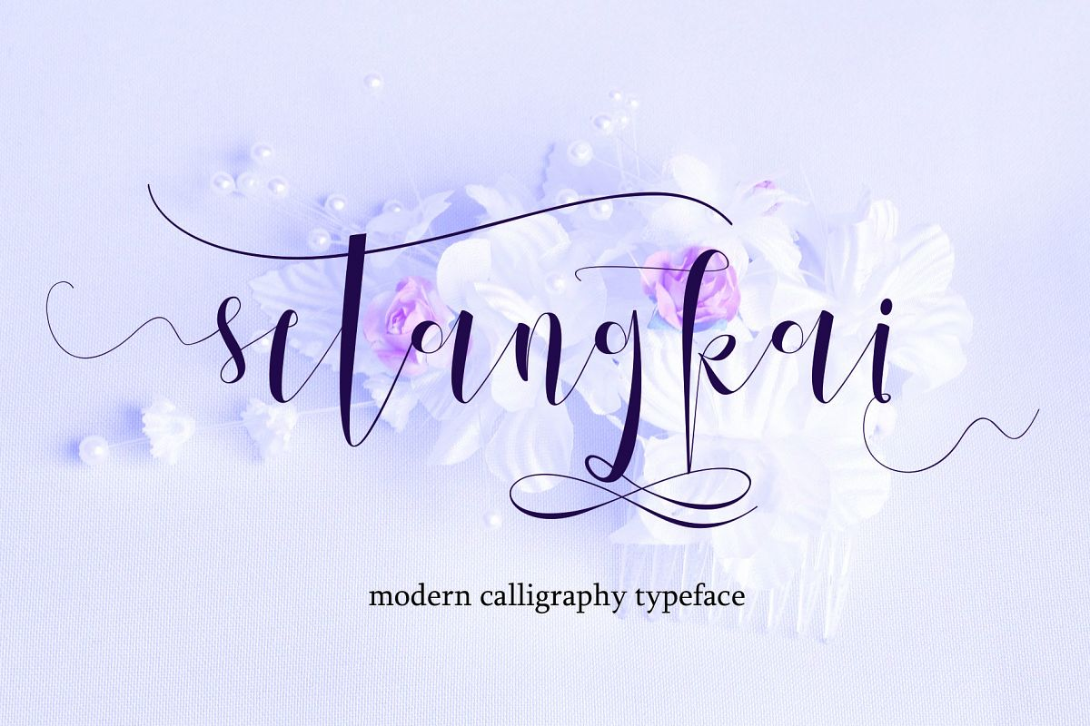 Setangkai Script example image 1