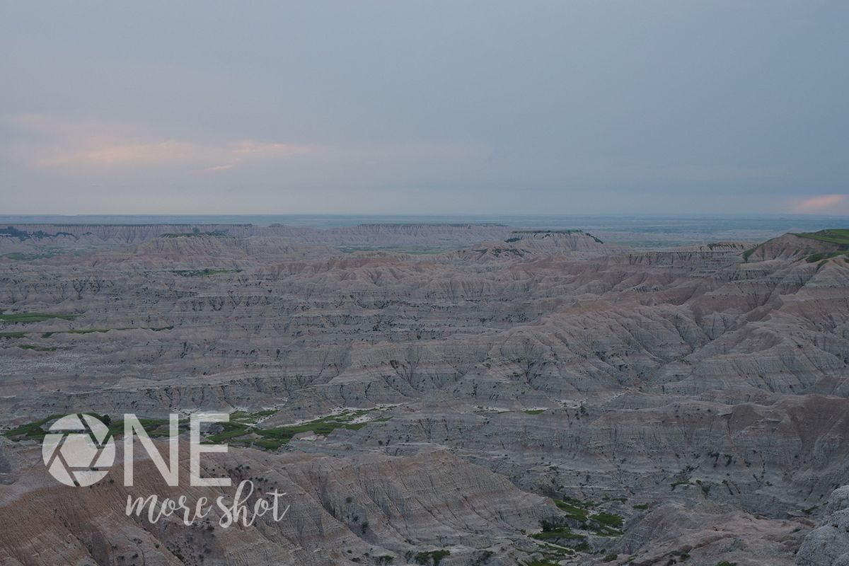 Badlands National Park South Dakota Skyline Photo example image 1