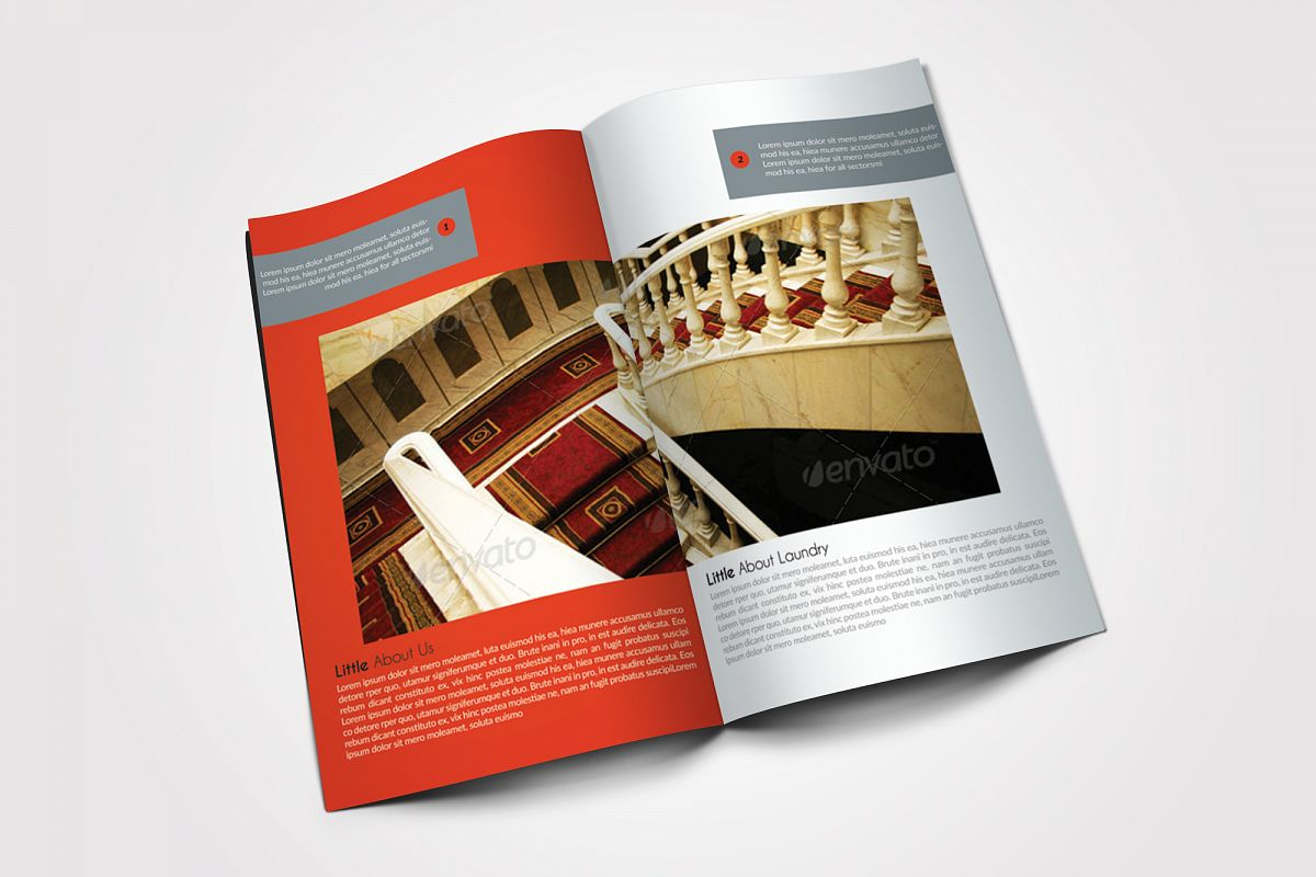 10 Pages Business Bifold Brochure example image 1