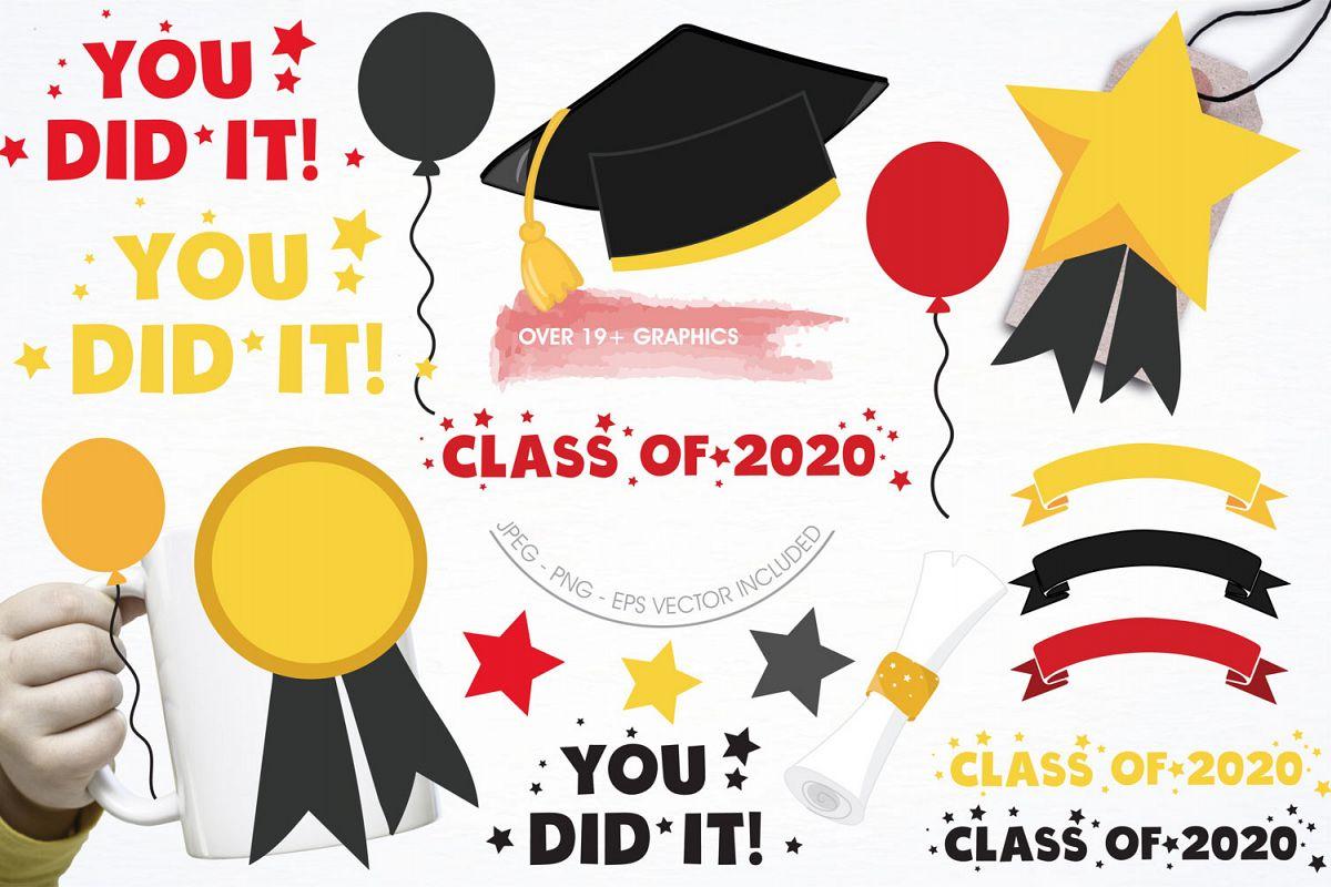 Graduation Class Cute Graphics example image 1