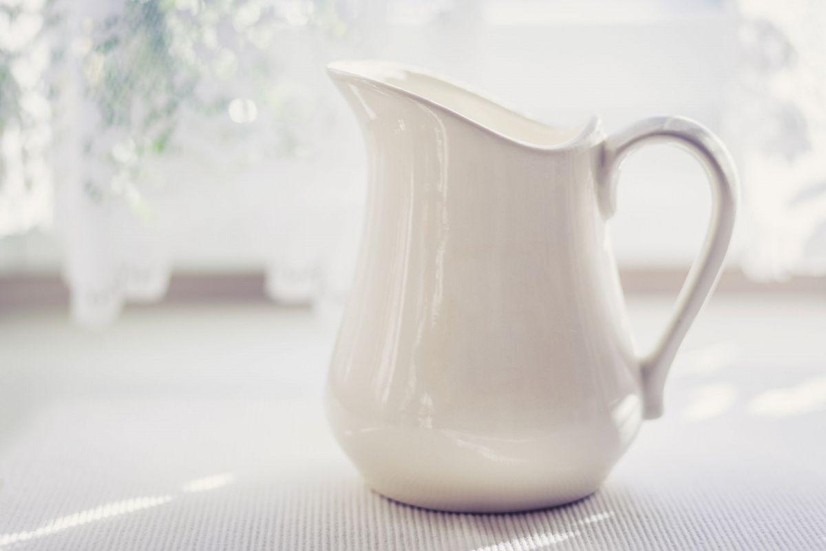 Milk Jug in Soft Light - Cold Tone