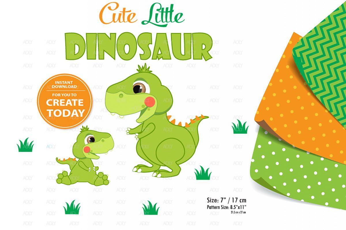 Dinosaur Blushing Baby Boy ,Clip Art,instant Download decor example image 1