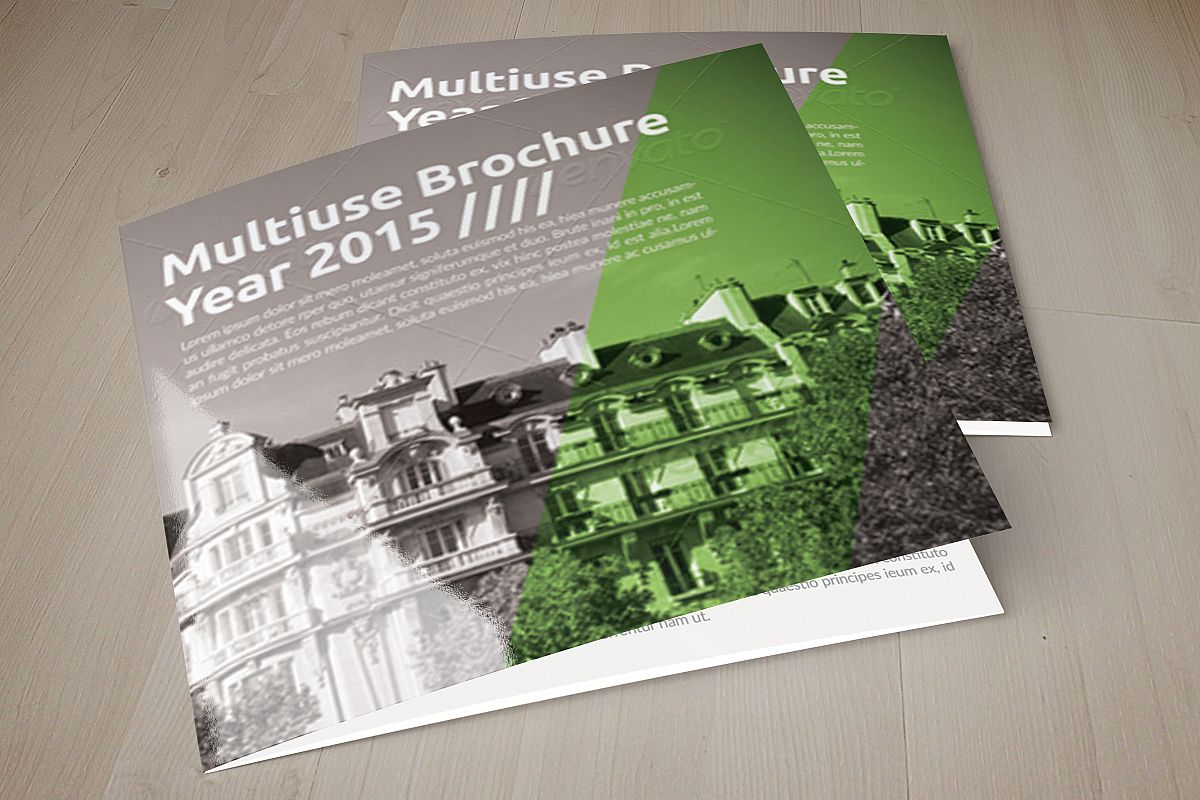 Business Tourist Square Trifold Brochure example image 1