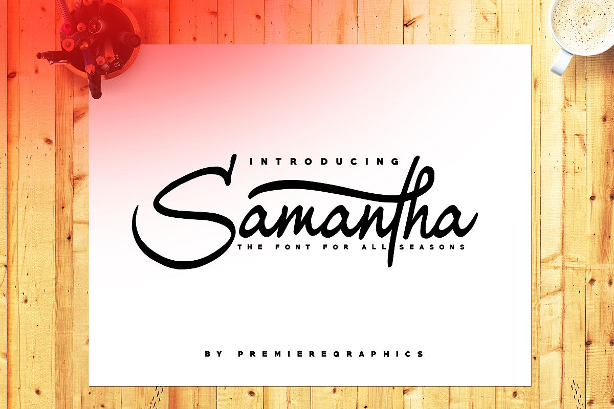Samantha Font example image 1